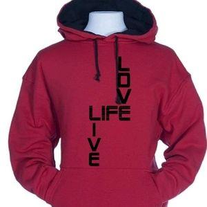 Mens and womens hoodies